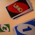"Uno, Spanish for ""one"", is a card game that was invented in 1971 by Merle Robbins of Ohio.  When arguing with his son about the rules of Crazy Eights, Merle […]"